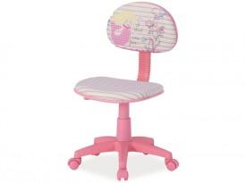 Krzesło obrotowe dla dziewczynki Hop 1