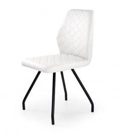 Pikowane krzesło K242 na giętych nogach