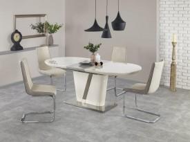 Lakierowany stół Iberis z owalnym blatem