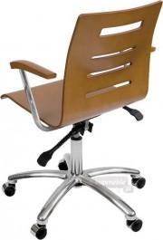 Krzesło Irys obrotowy B Wood Lux