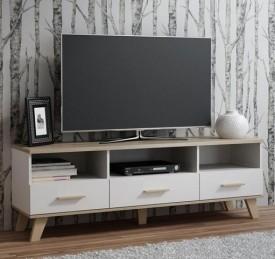 Stolik RTV2 Molda w stylu skandynawskim