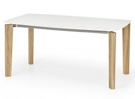 Stół Weber z białym lakierowanym blatem