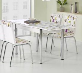 Stół Stanbul 1 z wielobarwnym blatem