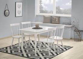 Biały lakierowany stół Lanford