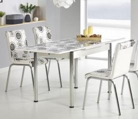 Rozkładany stół Stanbul 3 z kolorowym motywem