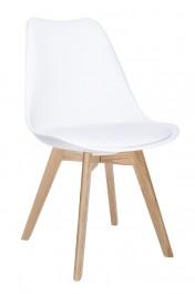 Krzesło Nordic Premium z poduszką z ekoskóry