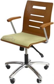 Krzesło Irys obrotowy B Wood Lux NS