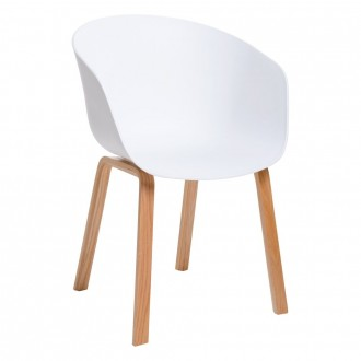 Krzesło na drewnianych nogach Angel
