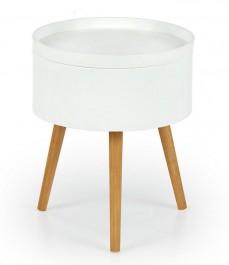 Stolik na drewnianych nogach Supra