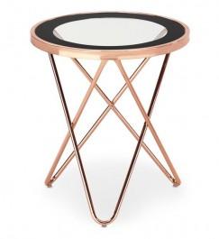 Nowoczesny stolik ze szklanym blatem Nola