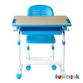 Funkcjonalne dziecięce krzesło i biurko z szufladą Piccolino
