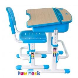 Dziecięce krzesło i biurko ze schowkiem Capri