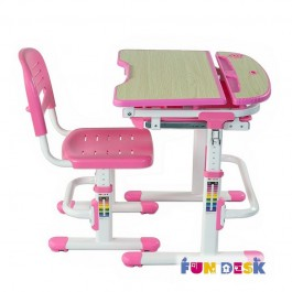 Dziecięce krzesło i biurko z szufladą Sorriso