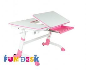 Regulowane dziecięce biurko z szufladą Amare