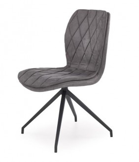 Pikowane krzesło na giętych nogach K237