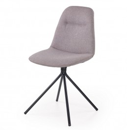 Krzesło na czarnych metalowych nogach K240