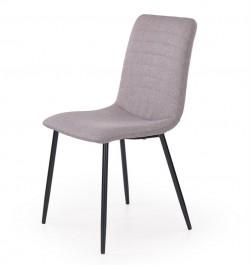 Krzesło na czarnych metalowych nogach K251