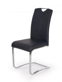 Tapicerowane krzesło na płozach K239