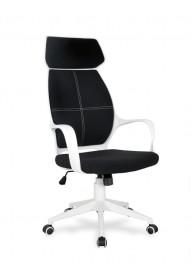 Czarno-białe krzesło z mechanizmem TILT Cameo