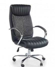 Elegancki fotel biurowy tapicerowany ekoskórą Ligol
