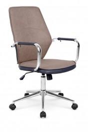 Tapicerowane ekoskórą krzesło biurowe Elite