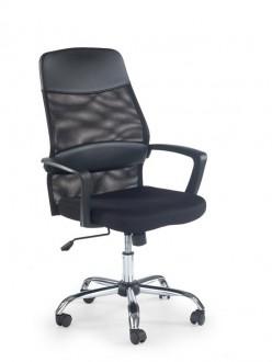 Elegancki czarny fotel Carbon