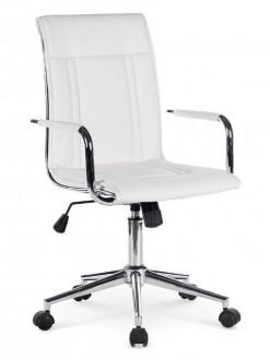 Eleganckie krzesło tapicerowane ekoskórą Porto 2
