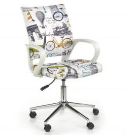 Wielobarwne krzesło obrotowe Ibis paris
