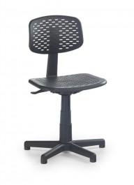 Czarne krzesło młodzieżowe Loco
