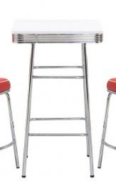 Stół barowy z białym blatem SB-11