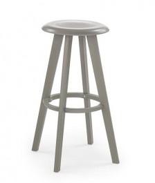 Nowoczesny stołek barowy z polipropylenu H-77