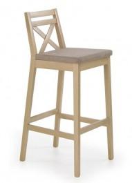 Wysokie krzesło barowe w kolorze dąb sonoma Borys