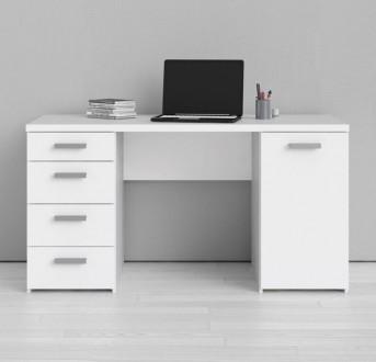 Biurko gabinetowe Kent Function Plus biały