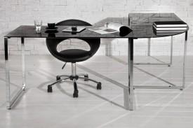 Lakierowane biurko narożne Big Blazed