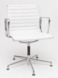 Fotel biurowy CH1081T skóra, chrom