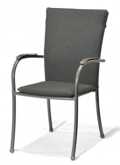 Krzesło ogrodowe z poduszką Nova