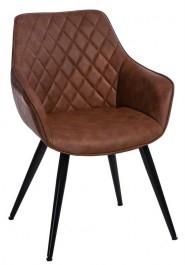 Eleganckie pikowane krzesło Rox