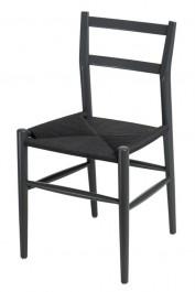 Klasyczne krzesło na drewnianych nogach Wiggy