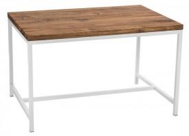 Stół Cohen z drewnianym blatem 120x80