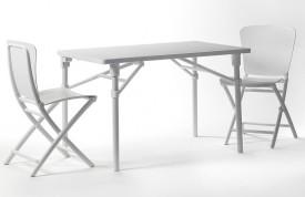Biały stół składany Zac