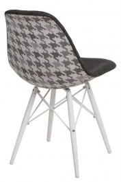 Krzesło P016W Pattern szary/pepitka