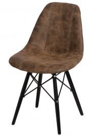 Krzesło P016W Pico ciemny brązowy