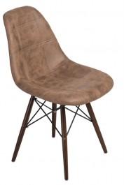 Krzesło P016W Pico brązowy