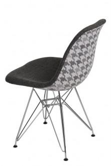 Krzesło P016 insp. DSR Pattern szary/pepitka