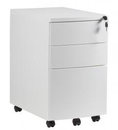 Biały kontener pod biurko RPH-01B-W