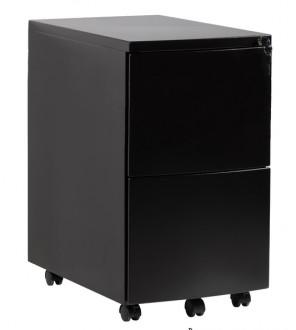 Czarny kontener pod biurko RPH-02B-B