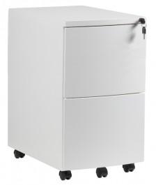 Biały kontener pod biurko RPH-02B-W