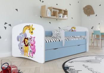 Łóżko dziecięce Babydreams z obrazkiem 140x70