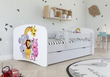 Łóżko dziecięce Babydreams z obrazkiem 160x80