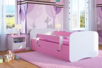 Łóżko dziecięce Babydreams bez obrazka 160x80